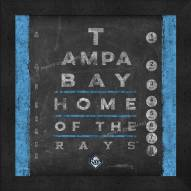 Tampa Bay Rays Eye Chart