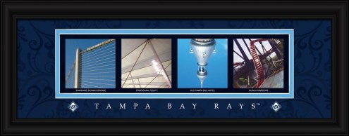Tampa Bay Rays Framed Letter Art