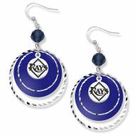 Tampa Bay Rays Game Day Earrings