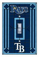 Tampa Bay Rays Glass Single Light Switch Plate Cover