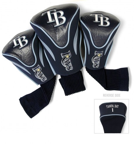 Tampa Bay Rays Golf Headcovers - 3 Pack