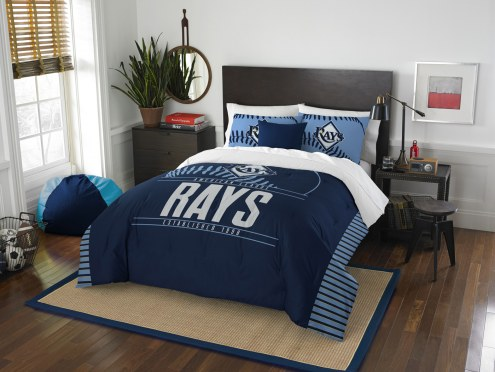 Tampa Bay Rays Grand Slam Full/Queen Comforter Set