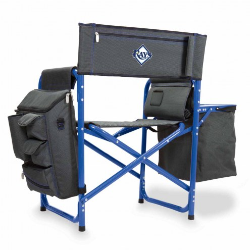 Tampa Bay Rays Gray/Blue Fusion Folding Chair