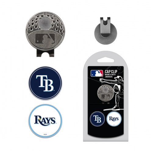 Tampa Bay Rays Hat Clip & Marker Set