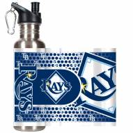 Tampa Bay Rays Hi-Def Stainless Steel Water Bottle