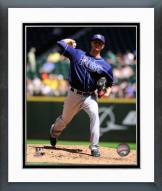 Tampa Bay Rays Jake Odorizzi Action Framed Photo