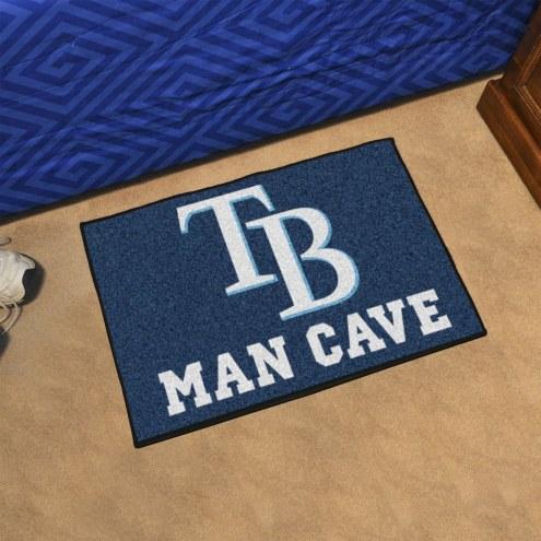 Tampa Bay Rays Man Cave Starter Mat