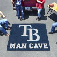 Tampa Bay Rays Man Cave Tailgate Mat