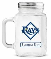 Tampa Bay Rays Mason Glass Jar