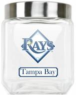 Tampa Bay Rays Medium Glass Canister