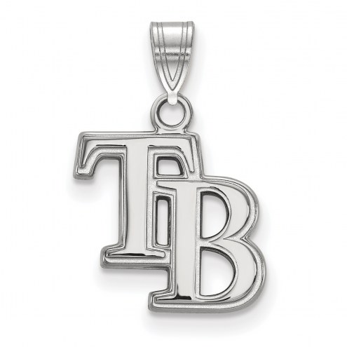Tampa Bay Rays Sterling Silver Small Pendant