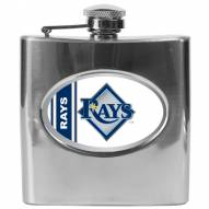 Tampa Bay Rays MLB 6 Oz. Stainless Steel Hip Flask