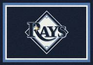Tampa Bay Rays MLB Team Spirit Area Rug