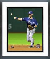 Tampa Bay Rays Nick Franklin Action Framed Photo