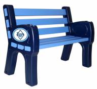 Tampa Bay Rays Park Bench