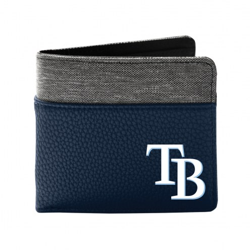 Tampa Bay Rays Pebble Bi-Fold Wallet