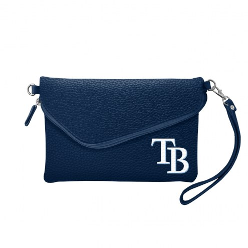 Tampa Bay Rays Pebble Fold Over Purse