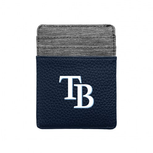 Tampa Bay Rays Pebble Front Pocket Wallet