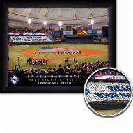 Tampa Bay Rays 11 x 14 Personalized Framed Stadium Print