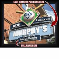 Tampa Bay Rays 11 x 14 Personalized Framed Sports Pub Print