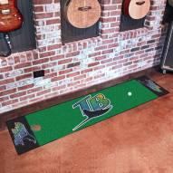 Tampa Bay Rays Golf Putting Green Mat