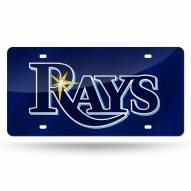 Tampa Bay Rays Laser Cut License Plate