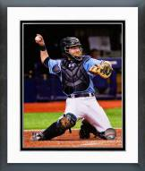 Tampa Bay Rays Ryan Hanigan Action Framed Photo