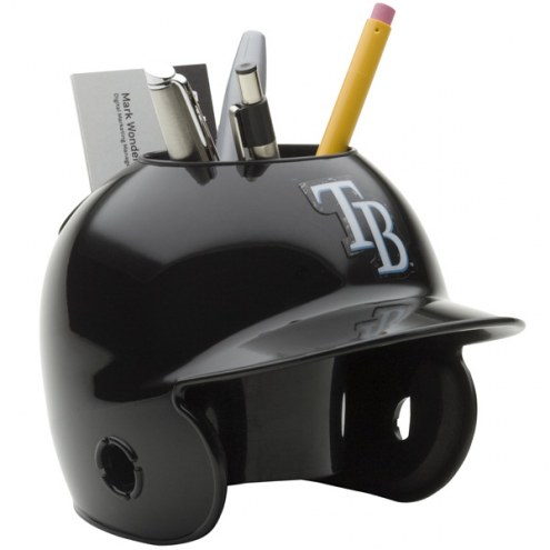 Tampa Bay Rays Schutt Batting Helmet Desk Caddy