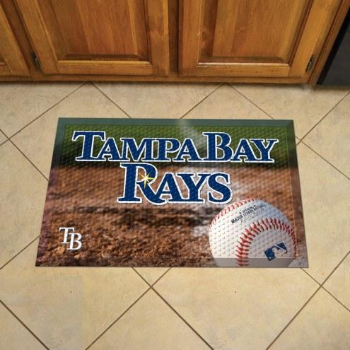 Tampa Bay Rays Scraper Door Mat