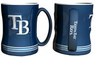 Tampa Bay Rays Sculpted Relief Coffee Mug