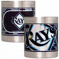 Tampa Bay Rays Stainless Steel Hi-Def Coozie Set