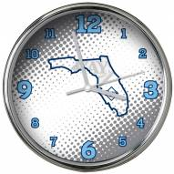 Tampa Bay Rays State of Mind Chrome Clock