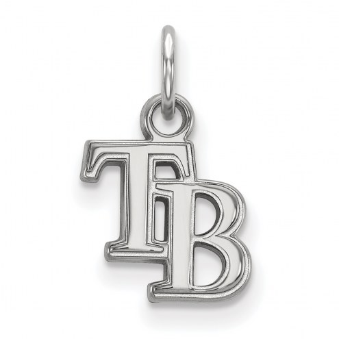 Tampa Bay Rays Sterling Silver Extra Small Pendant