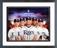 Tampa Bay Rays Tampa Bay Rays Team Composite Framed Photo