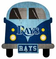 Tampa Bay Rays Team Bus Sign