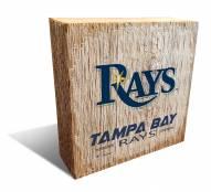 Tampa Bay Rays Team Logo Block