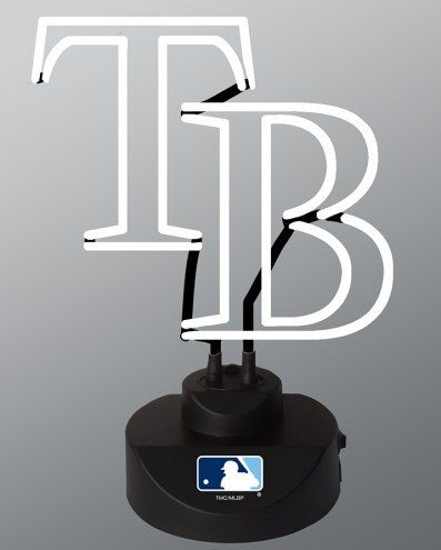 Tampa Bay Rays Team Logo Neon Lamp