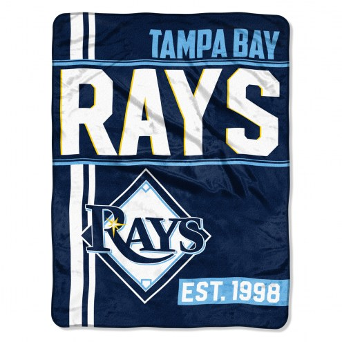 Tampa Bay Rays Walk Off Throw Blanket