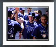 Tampa Bay Rays Wil Myers Action Framed Photo