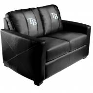 Tampa Bay Rays XZipit Silver Loveseat with Secondary Logo