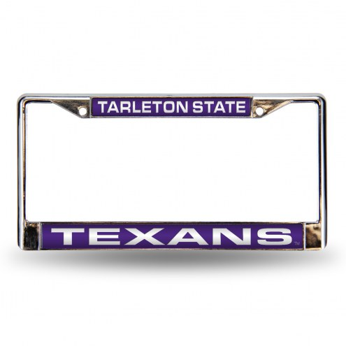 Tarleton State Texans Laser Chrome License Plate Frame