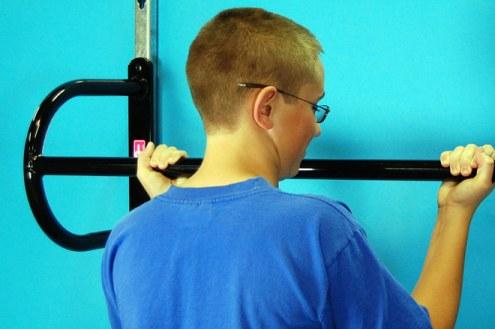 TC Sports Adjustable Wall Mounted Chinning Bar