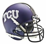 TCU Horned Frogs Matte Purple Schutt Mini Football Helmet