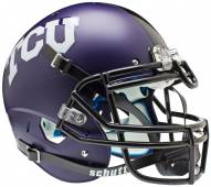 TCU Horned Frogs Matte Purple Schutt XP Authentic Full Size Football Helmet