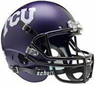 TCU Horned Frogs Matte Purple Schutt XP Collectible Full Size Football Helmet