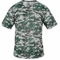 Badger Sport B-Core Digital Camo 2-Button Henley