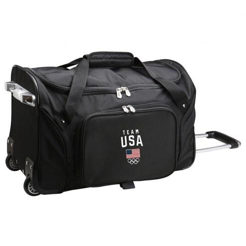 "Team USA 22"" Rolling Duffle Bag"