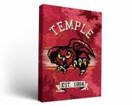 Temple Owls Banner Canvas Wall Art
