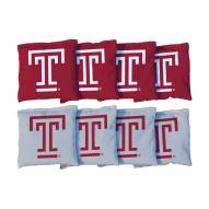 Temple Owls Cornhole Bag Set