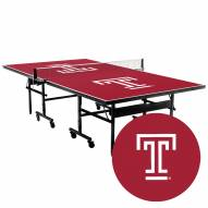 Temple Owls Indoor Ping Pong Table